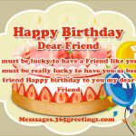 2019 Bday Returns Wishes For Friend Funny