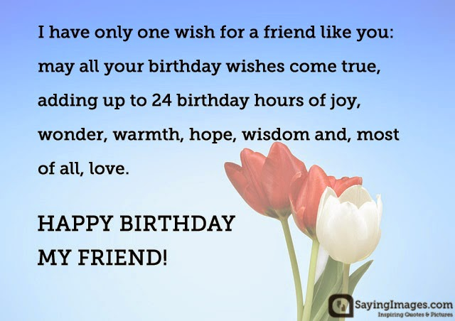 2019 Birthday Returns Wishes For Best Friend Female Quotes With Name