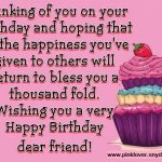 2019 Birthday Returns Wishes For Best Friend Female Video Free Download Free