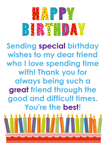 2019 Birthday Returns Wishes For Best Friend Images Free Download