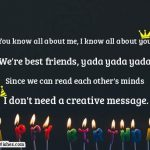 2019 Birthday Returns Wishes For Best Friend Like Brother In Hindi