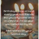 2019 Birthday Returns Wishes For Best Friend Like Sister