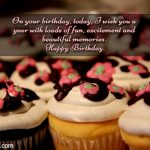2019 Birthday Returns Wishes For Best Friend With Cake Images