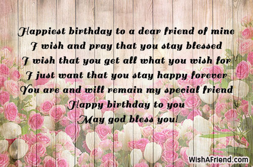 2019 Birthday Returns Wishes For Friend Female Like Sister