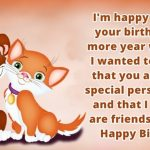 2019 Birthday Returns Wishes For Friend Funny Images