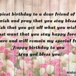 2019 Birthday Returns Wishes For Friend Images Hd With Name Card