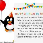 2019 Birthday Returns Wishes For Friends Images With Cake