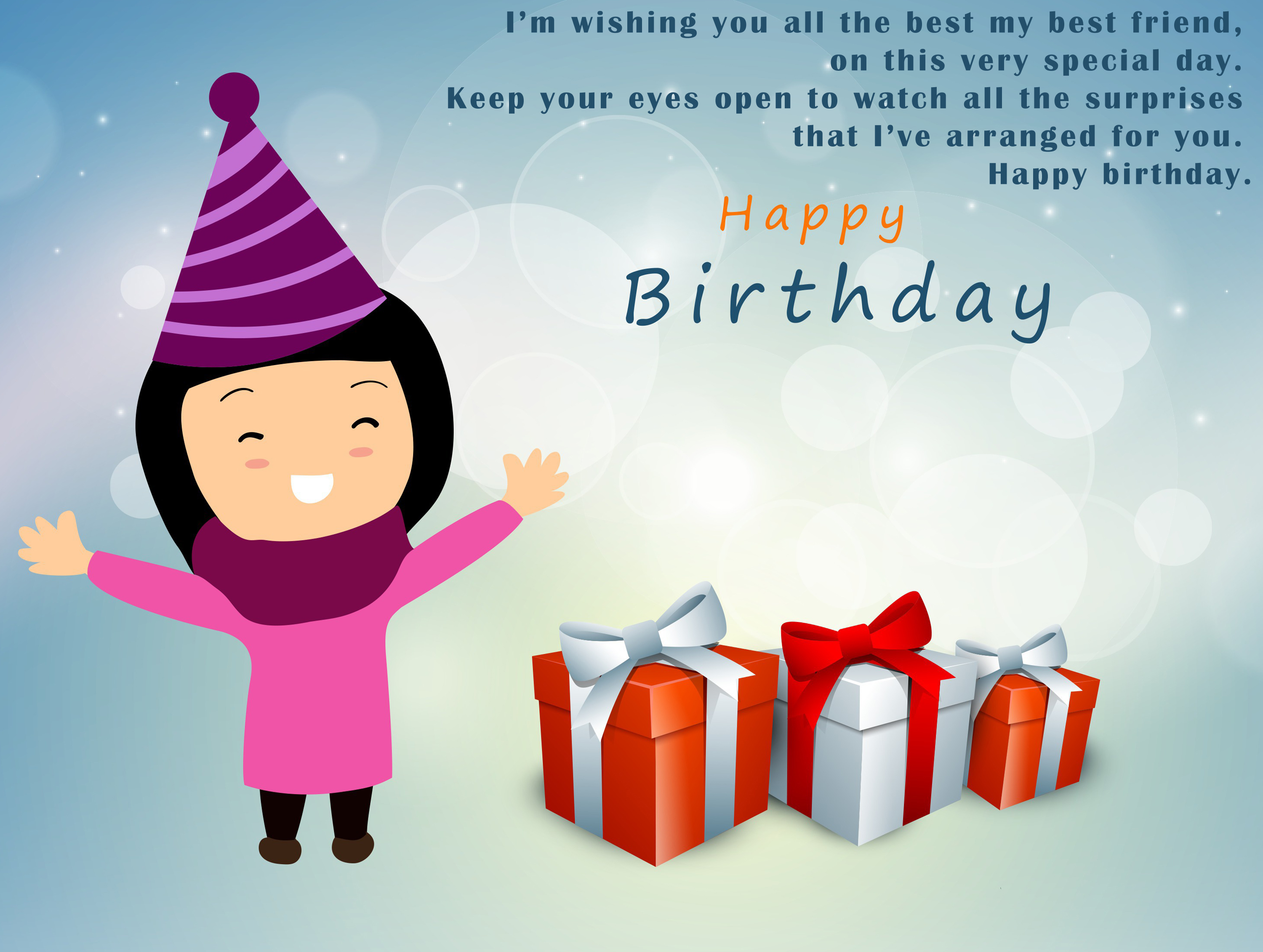 2019 Birthday Wishes For Best Friend Female Video Free Download