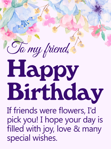 2019 Birthday Wishes For Best Friend Girl Edit Name