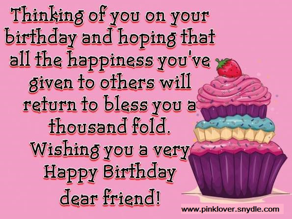 2019 Birthday Wishes For Best Friend In Hindi Images