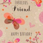 2019 Birthday Wishes For Best Friend With Cake Images