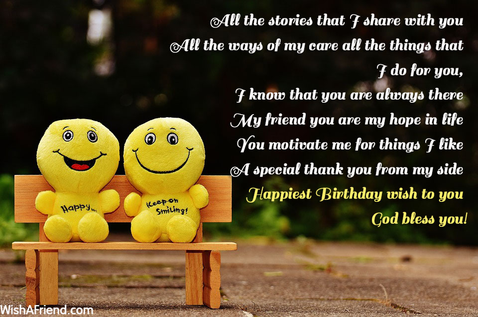 2019 Birthday Wishes For Friend Funny Images