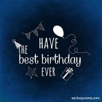 2019 Birthday Wishes For Friend Images Download