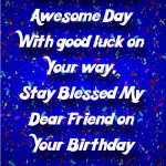 2019 Birthday Wishes For Friend Images In Hindi