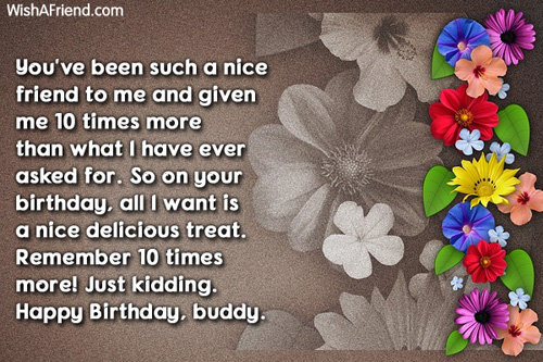 Birthday Returns Wishes For Best Friend Female Quotes Images