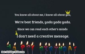Birthday Returns Wishes For Best Friend Female Quotes In English