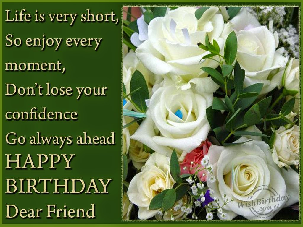 Birthday Returns Wishes For Friend Female Quotes