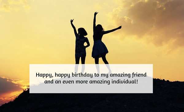 Birthday Returns Wishes For Friend Like Sister