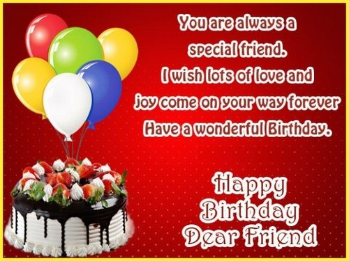Birthday Returns Wishes For Special Friend In Punjabi