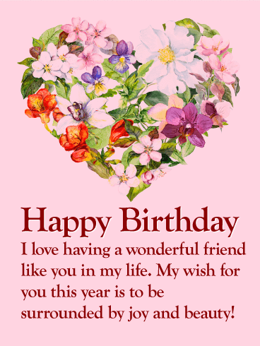 Birthday Wishes For Best Friend Female Pics