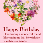Birthday Wishes For Best Friend Images Free Download