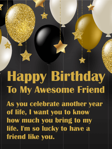 Birthday Wishes For Friend Funny