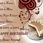 Birthday Wishes For Friend Images Hd