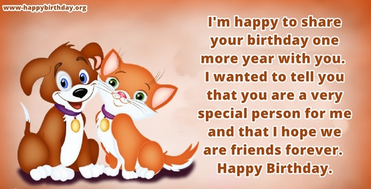 Birthday Wishes For Good Friend Images