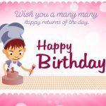 Birthday Wishes Images Hd For Friend With Cake