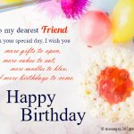 Happy Bday Wishes For Friend Like Sister
