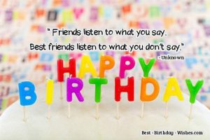 Happy Birthday Wishes For Best Friend Female Quotes In English
