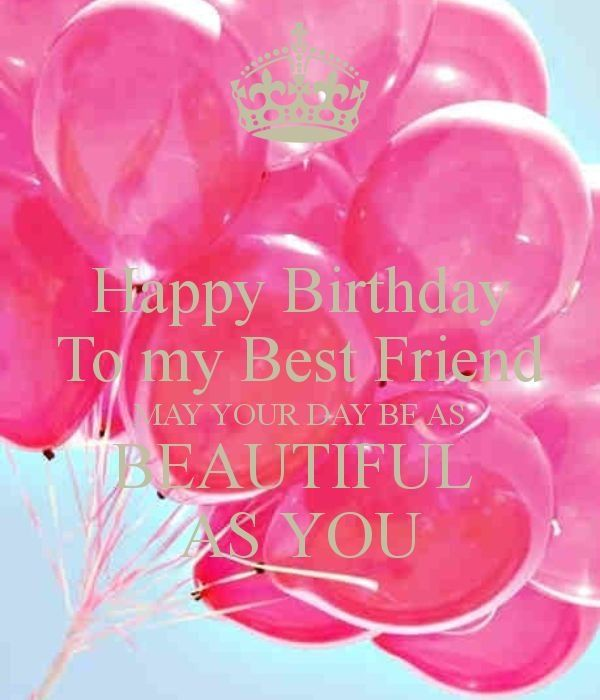 Happy Birthday Wishes For Best Friend Girl With Name