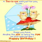 Happy Birthday Wishes For Best Friend Like Brother In English