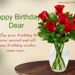 Happy Birthday Wishes For Best Friend With Cake Images