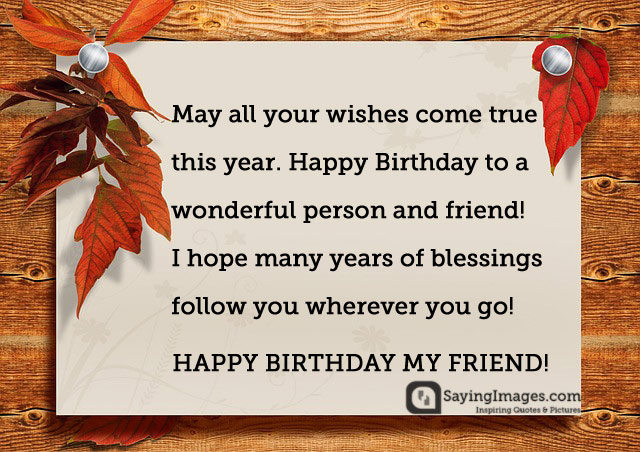 Happy Birthday Wishes For Friend Images Hd Download