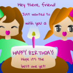 Happy Birthday Wishes For Friend Like Sister