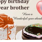 2019 Birthday Wishes For Brother Wife In English