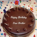 Birthday Wishes Cake With Name For Brother