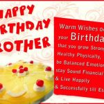 Birthday Wishes For Brother In English One Line