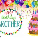Birthday Wishes For Brother Sms In English