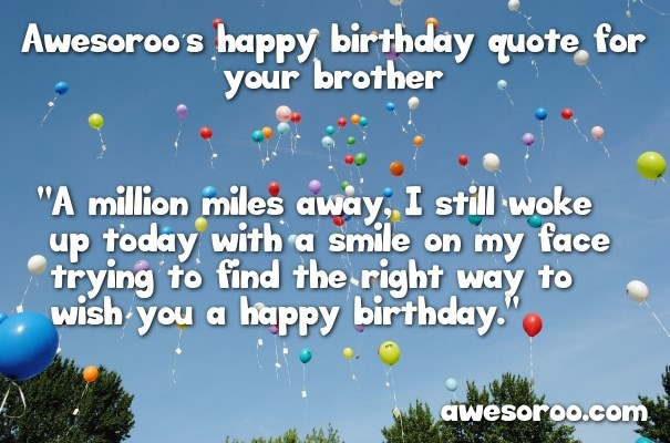 Birthday Wishes For Brother Status In English 2019