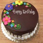 Birthday Wishes For Brother With Chocolate Cake 2019