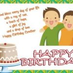 Birthday Wishes For Cousin Brother In English 2019