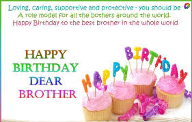Birthday Wishes For Cousin Brother In English