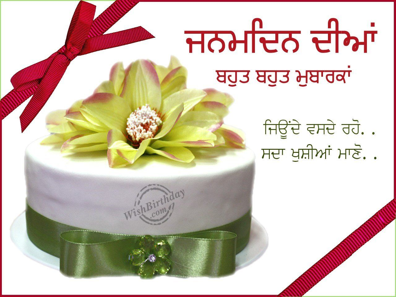 Birthday Wishes Quotes In Punjabi For Brother