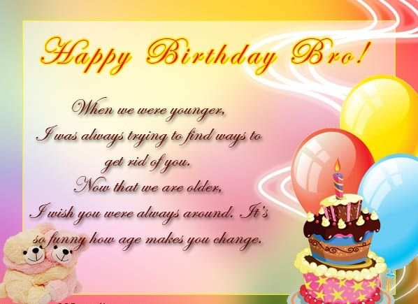 Funniest Birthday Wishes For Brother In Hindi