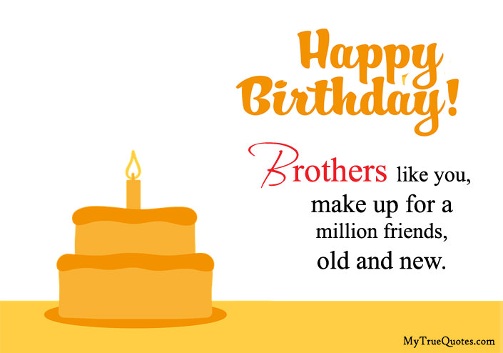 Birthday Wishes For Brother In Roman English | Happy