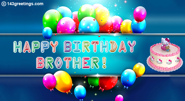 Happy Birthday Wishes For Brother Sms In English