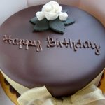 Happy Birthday Wishes For Brother With Chocolate Cake