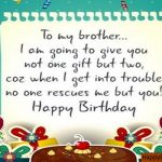 Heart Touching Birthday Wishes For Brother In English